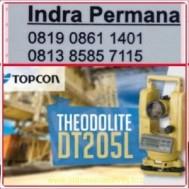 Jual Theodolite Topcon DT 205L Harga, Murah, Spesifikasi