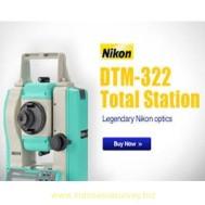 Jual beli Total Station Nikon DTM 322 Second Bekas Harga Murah